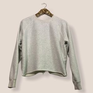 Abercrombie & Fitch Lace Up Back Sweatshirt